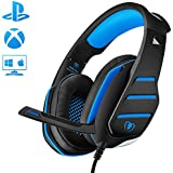 PS4 Gaming Headset with Mic, Beexcellent Newest...