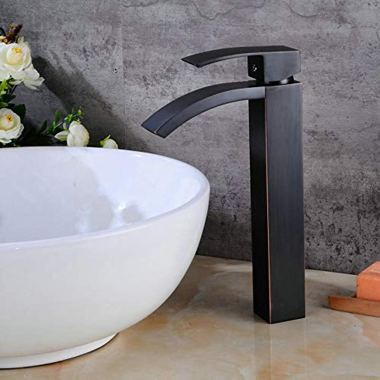 Wasserhahn 360 ° Drehbar Edelstahl Wasserhahn Sanitr-Hardware Bronze Schwarz Wasserhahn Einhand-Einloch-Sanitr Neu