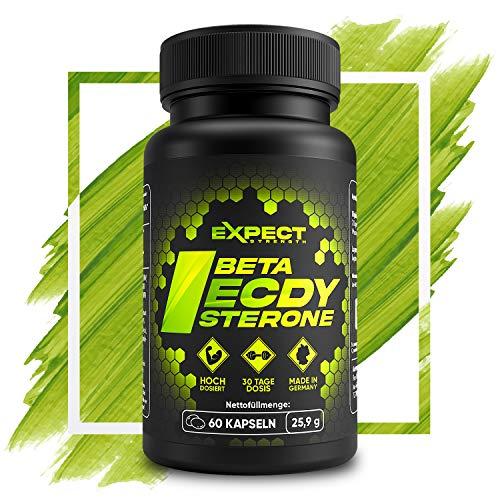 Expect Ecdysterone - 90{8b08bec7d225846fcbfa15a8190cf7bfc606c5a86bd532fa7d1406b78854372c} Ecdysteron (Für Athleten & Sportler) - Hochdosierter Cyanotiskraut-Extrakt als Monats-Dosis (Beta-Ecdysterone)