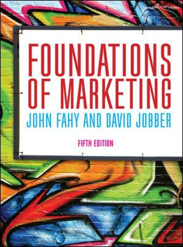 Foundations of Marketing (UK Higher Education Business
