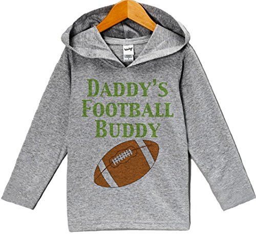 Custom Party Shop Baby Boy's Novelty Football Hoodie Pullover 6 Months Grey and Brown
