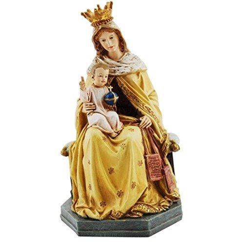 Joseph Studio Estatua escapular, diseño de Nuestra Señora de MT Mount, 20,3 cm