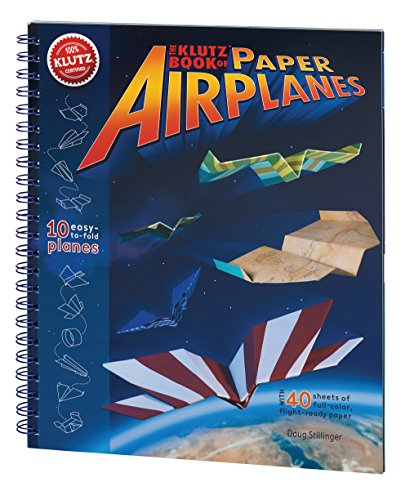 Klutz Book of Paper Airplanes Cr...