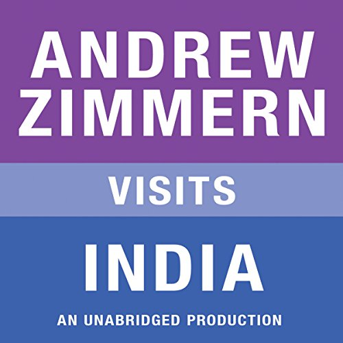 Andrew Zimmern Visits India audiobook cover art