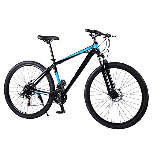 ZJBKX 24 Pulgadas 27 Velocidad Variable, Freno De Disco Doble, Bicicleta De Montaña, Marco De Aleación De Aluminio, Estudiante Adulto, Bicicleta De Montaña