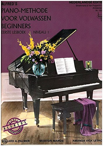 Alfred's Pianomethode Volwassen beginners Niveau 1 - Piano - Boek
