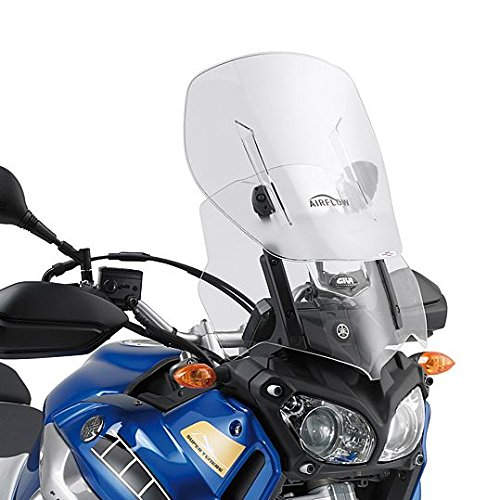 Motorrad Windschutzscheibe Yamaha XT 1200 Z Super Tenere 10-18 Givi Airflow verstellbar