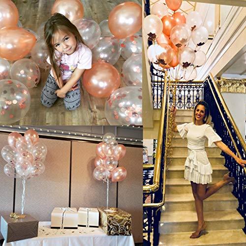 Ballon Set roségold | 30 Stück - 7