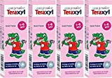 Teraxyl - Dentifrice Junior/Enfant - Mon Premier Dentifrice Goût Fraise 1-6 Ans - Tube 50 ml - Lot de 4