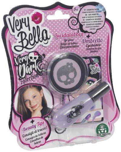Giochi Preziosi 70150301 - Very Bella Dark Lidschatten und Lipgloss, wasserlösliche Kinderschminke,...