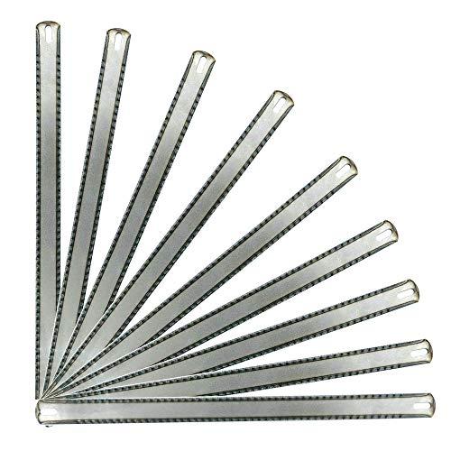 Hoja de sierra VOREL | Hoja de sierra para metales de acero al carbono | cuchillas multifuncionales de 300 mm de largo y 25 mm de alto para cortar acero, plástico y metales