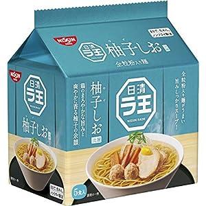 """日清 ラ王 柚子しお 5食パック 465g"""""""