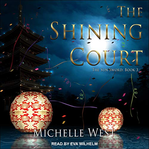 The Shining Court audiobook cover art
