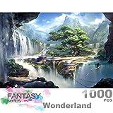 Ingooood- Fantasy Series- City of Machine Operated- Rompecabezas 1000 Piezas Juguetes de entretenimiento para adultos Graduación especial o regalo de cumpleaños Decoración para el hogar