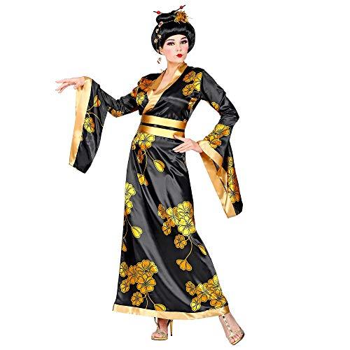 WIDMANN 01531 Disfraz de Geisha, mujer, negro/oro, S , color/modelo surtido