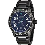 NIXON Men's Quartz Watch with Stainless Steel Strap, Black (Model: A277-1421)