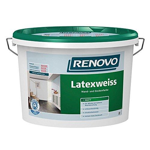 Latexweiss Latexfarbe 5 L Matt Renovo Wand Deckenfarbe