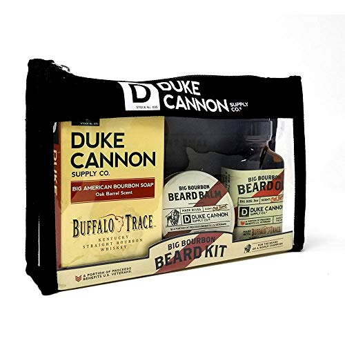 Duke Cannon Best Damn Beard Kit - Big Bourbon