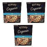 Better Oats Harina de avena orgánica de grano múltiple con avena de lino, cebada, trigo, quinoa y centeno – 3 unidades con 8 bolsas de medición para tazas cada una