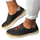 Yeyamei Loafers for Women with Heel Slip On Breathe Mesh Walking Shoes...