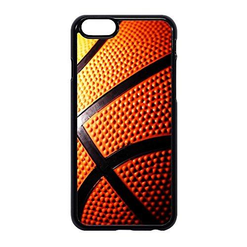 Sublimation 2D - Carcasa para teléfono móvil fabricada en goma TPU modelo pelota de baloncesto - Máxima protección iPHONE 6/6S STICKER BOMB