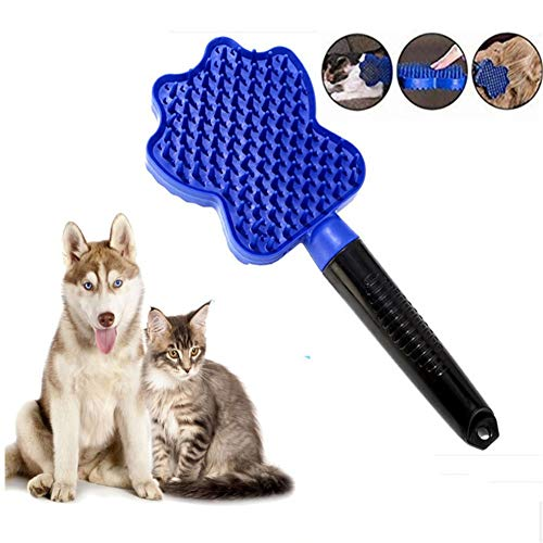 Bvnivcxzem Dog Brush for Matted Hair Dog Brushes for Grooming Flea Combs for Cats Dog Grooming Tools Dog Brushes for Long Haired Dogs Back Combing Brushes