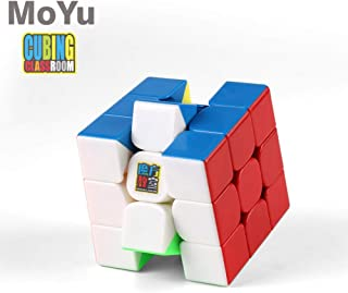 RONSHIN Children for Moyu 3x3x3 MF3RS Magic Cube Puzzle Stickerless Professional Fidget Speed Cube Colorful