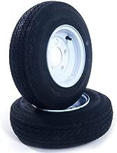 MILLION PARTS 2 Tralier Tires & Rims 4.80-8 480-8 4.80 X 8 8