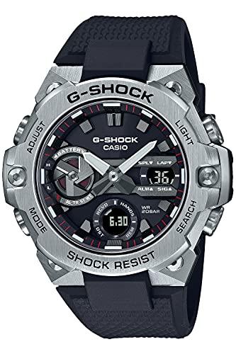 [カシオ] 腕時計 ジーショック G-STEEL スマートフォン リンク カーボンコアガード構造 GST-B400-1AJF メンズ ブラック