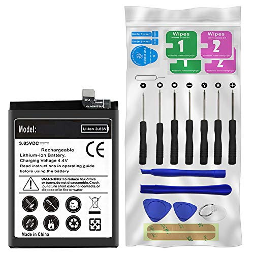 1+3 Battery,Long Lasting Replacement 3200mAh Battery BLP613 for OnePlus 3 A3000 A3003 with Screwdriver Tool Kit