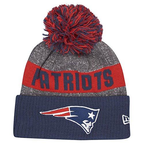 New Era NFL Sideline Bobble Knit Neepat OTC Gorra Línea England Patriots...