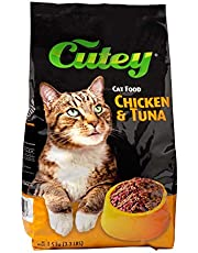 Cutey Cat Food -Chicken and Tuna, 1.5kg