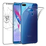 ebestStar - Coque Compatible avec Huawei Honor 9 Lite Etui Housse Silicone Gel Anti-Choc Ultra Fine Invisible, Transparent + Film Verre Trempé [Appareil: 151 x 71.9 x 7.6mm, 5.65'']