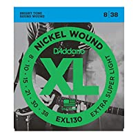 D'Addario EXL130 エレキギター弦×5セット