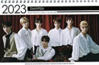 ENHYPEN エンハイフン グッズ 卓上 カレンダー ( 写真集 カレンダー) 2022~2023年(2年分) + ステッカーシール [12点セット]