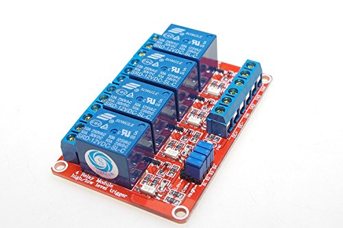 DC12V 10A 1 Channel Low Level Power Supply Relay Module SRD-12VDC-SL-C