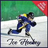 Calendar 2022 Ice Hockey: Ice Hockey Official 2022 Monthly Planner, Square Calendar with 19 Exclusive Ice Hockey Photoshoots from July 2021 to December 2022