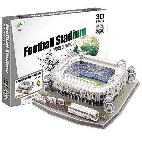 Georgie Porgy 3D Estadio de Fútbol Puzzles Juguetes de Construcción Conjuntos...