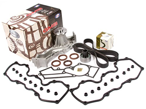 Evergreen TBK104WP3 Compatible With 87-93 Nissan Pathfinder D21 (4WD) SOHC VG30E Timing Belt Kit w/Water Pump Valve Cover Gasket