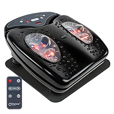 Daiwa Felicity Foot Vibration Massager for Blood Circulation with Infrared Heat Footvibe (Pro)