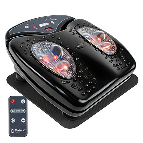Daiwa Felicity Foot Vibration Massager for Blood Circulation - Footvibe Pro Series with Rubber Mat