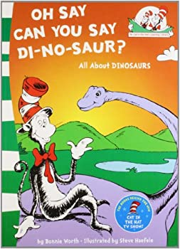 Paperback Oh Say Can You Say Di-no-saur?: All About Dinosaurs Book