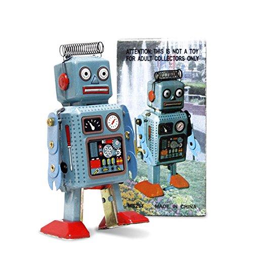 FANMEX - Fantastik - Robot spiralfeder - Nostalgie Blechroboter