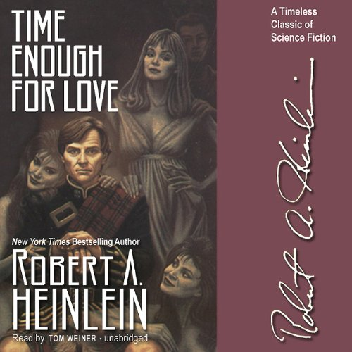 Time Enough for Love  By  cover art