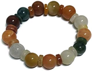 Retro Myanmar Jade Bracelets for Good Fortune Lucky and Wealth.