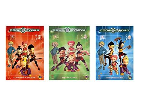 OFFERTA SPECIALE!! 3 DVD CODE LYOKO