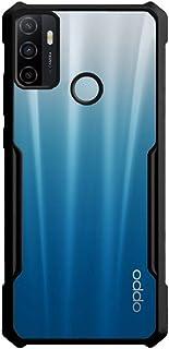 جراب واقٍ ممتص للصدمات مضاد للصدمات من أجل Realme C17 / Realme 7i - شفاف وأسود
