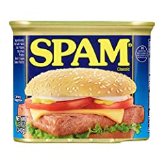 #1 canned luncheon meat brand Fully cooked canned pork with ham 6 simple ingredients; 0 grams trans fat per serving; 0 grams sugar per serving 7 grams of protein with 180 calories per serving Shelf stable; does not require refrigeration until after i...