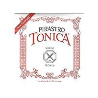 ピラストロ Tonica トニカ ヴァイオリン弦 G線 ナイロン 4/4 シルヴァー巻 412421