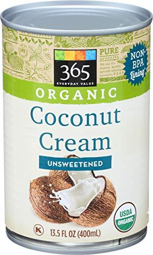 365 Everyday Value, Organic Coconut Cream, Unsweetened, 13.5 fl oz